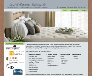 Campbell Hospitality Website