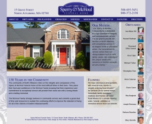 McHoul Funeral Home Website