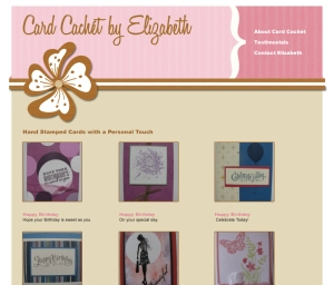 Card Cachet Website