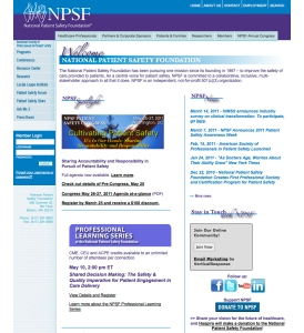 NPSF Home Page