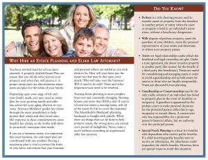 Karen McSherry Brochure