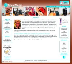 Shear Magic Website